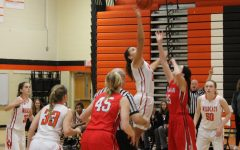 Girls basketball wins against Deerfield