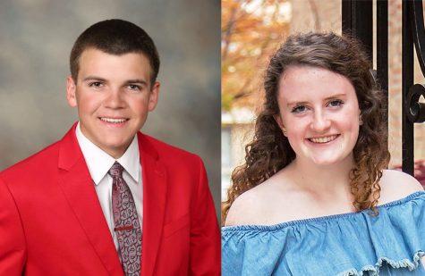 George Legan and Emily Regan receive good citizen award