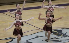 LHS Poms Places 4th at Conference