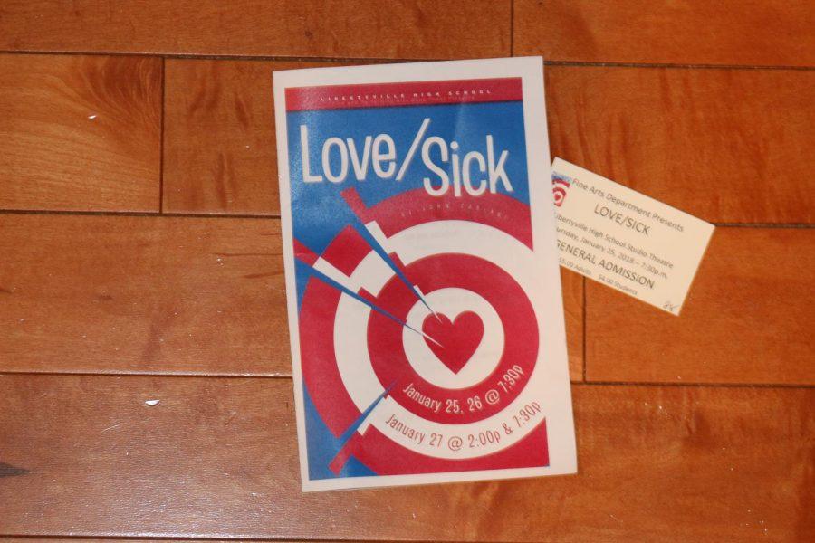 Freshmen and sophomores present winter play Love/Sick