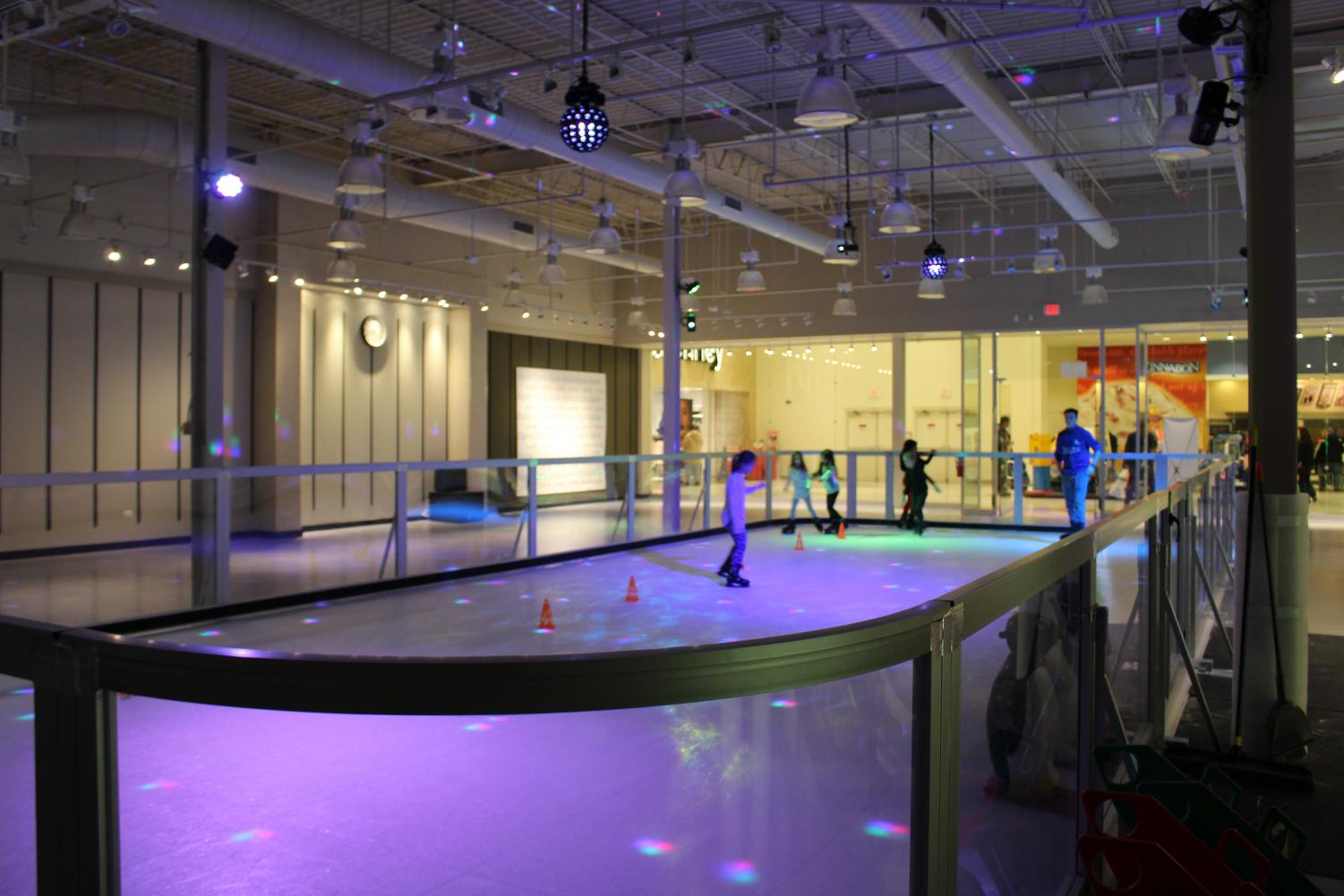 The Skate Room, which opened in mid-November, is a synthetic ice rink whose owners wanted a place for families and friends to get physical activity while enjoying a social environment.