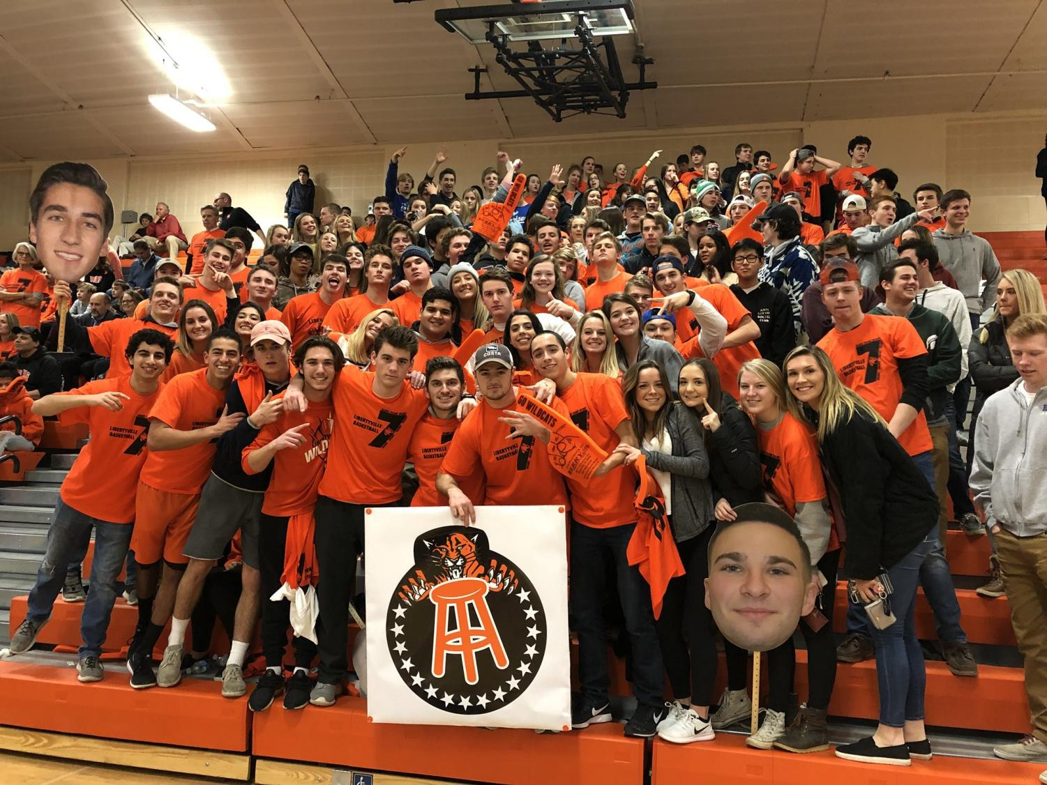 """Whenever an LHS sports event, such as a basketball game, has a large fan turnout, there is often positive feedback for the players. """"The fans energize us, and it's great to have a ton of people come to our games,"""" mentioned boys basketball senior captain and starting forward Chase Eyre."""