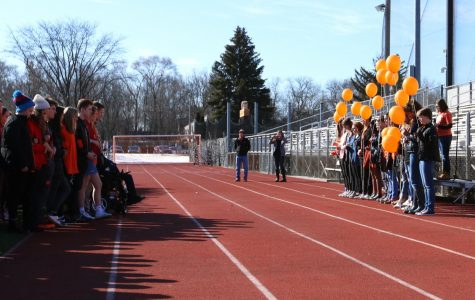 LHS students participate in national school walkout