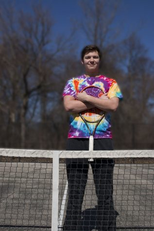 John Scott, a senior and three-year varsity tennis athlete at LHS, has come out to a few close friends but doesn't want his sexuality to be defining.