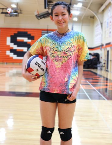 Junior Lisa Zhao never officially came out but is comfortable that people found out about her sexuality. She said she has never faced any stereotypes because of her sexuality and believes that if someone was to be rude to her during volleyball, it would be their own problem.
