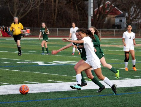 Girls Soccer loses to Stevenson, falls to 7-4 record