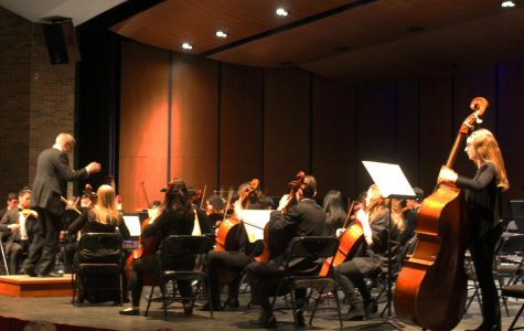 "The String Project orchestra played ""Take it All Back"" by Judah and the Lion. The String Project Orchestra is an after-school club that plays popular, modern songs."