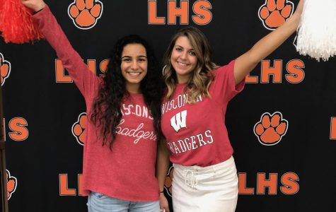 Seniors show off their colleges on Decision Day