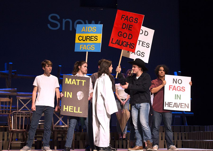"LHS students put on production of ""The Laramie Project"""
