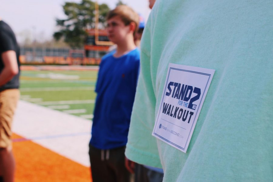 "LHS students walkout for ""Stand for the Second"""