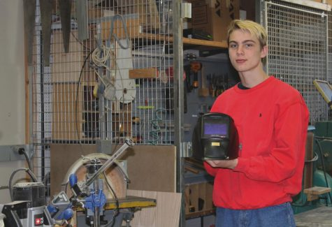 In order to pursue his dream of a welding career, senior Cameron Szabo will be attending the Tulsa Welding School in Jacksonville, Florida, immediately after graduation. Currently, Szabo attends the Lake County Tech Campus daily for welding classes.