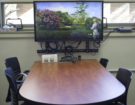 Similar to the LED (a collaborative place for teachers to go to learn more about technology), the Drop-in Lab will be moved to a different room, where it will become a group project area with lots of technology available, such as TVs and Smartboards.