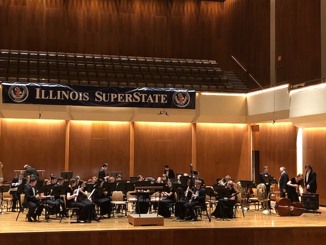 On+Saturday+May+5%2C+the+LHS+Wind+Ensemble+performed+at+University+of+Illinois+Urbana-Champaign+and+took+home+the+SuperState+title.