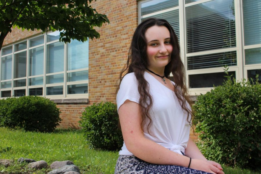 Karina Konshin, a junior at LHS, is interested in the arts of drawing, poetry, and singing; most surprisingly, Konshin also enjoys freestyle rapping.
