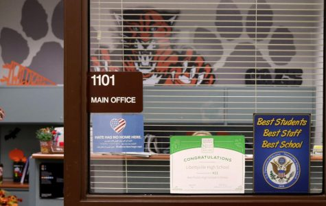 Libertyville High School awarded its first Blue Ribbon since 1990