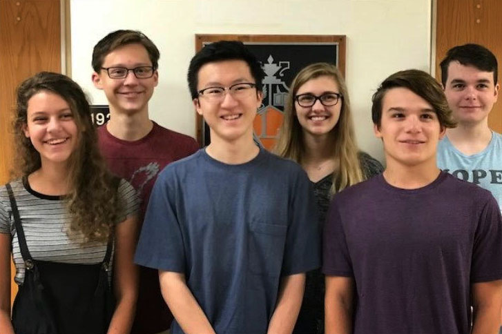 The+six+Libertyville+semifinalists+include+%28left+to+right%29+Annika+Bjorklund%2C+Mitchell+Gifford%2C+Brian+Hong%2C+Alice+Lillydahl%2C+Ian+Smith%2C+and+George+Hayek.+