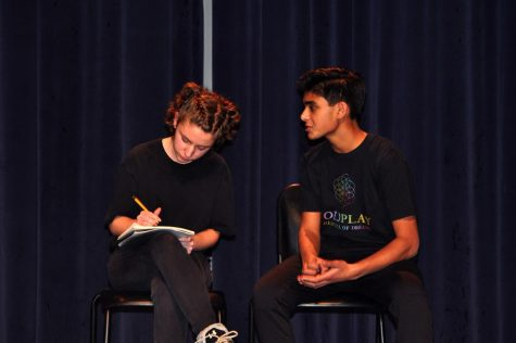 Students and featured performers present at Writers Week