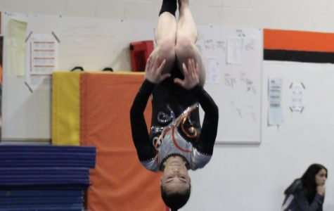 Girls gymnastics defeats Mundelein and Vernon Hills in duel meet