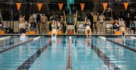 Libertyville Boys Swimming and Diving loses to rival Stevenson