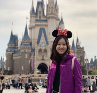 """I liked going to Disneyland [in Japan] because I hadn't been there in 10 years and I kind of remember places. My sisters wanted to go on all the rides but I like to buy stuff, so I was just at all the shops and they were on all the rides. But it was really fun to be in the environment because you get this feeling…it's kind of like magical."""