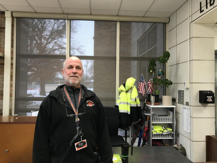 Security Guard Mr. John Linden recalled how happy he felt when his wife gave birth to their first child.