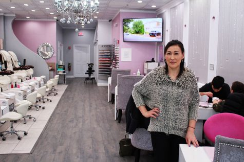 Ari Battaa, owner of Luminous Nails grew up in Mongolia where she began her experience in nails by working at her mother's nail salon. She opened the salon in June of 2016 and hopes to open more locations in the future.