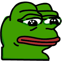 Pepe, pictured above, is a popular meme character who represents many things, his most prominent representation being his frequent apperances in depression based memes.