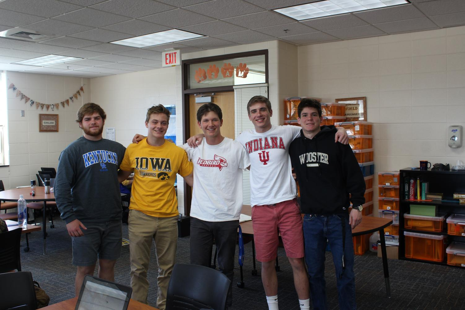 Matt+Bechtold+is+joining+the+University+of+Kentucky%2C+Kyle+Junkunc+will+be+attending+the+University+of+Iowa%2C+Tanner+Kelly+is+going+to+Illinois+State+University%2C+Jonny+Lauber+is+enrolling+at+Indiana+University+and+Matt+Engfer+is+attending+the+College+of+Wooster.+%0A