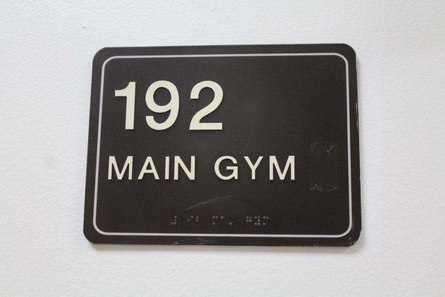 While+the+main+gym+was+closed+there+were+warning+signs+on+all+of+the+gym+doors+as+well+as+wrestling+mats+in+front+of+the+doors+to+block+the+entrances.