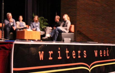 The four days of Writers Week are packed with poems, stories, comedy, music and so much more. This is when students and professionals take the stage to share their hard work with the Libertyville High School community.