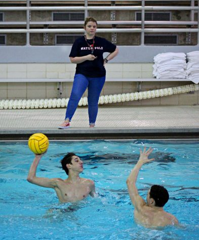 Turner's Hat Trick Propels Boys Water Polo to Senior Night Victory