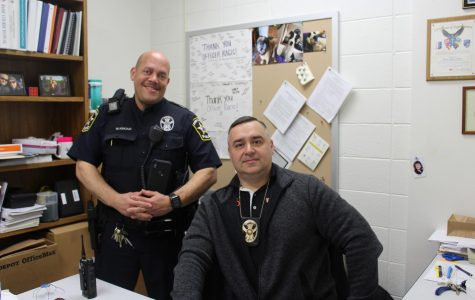 Officer Racic promoted to Sergeant; Officer Kincaid named next LHS SRO
