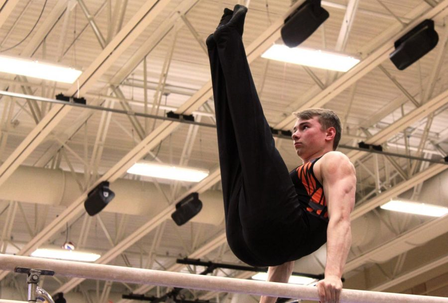 Ranked first in state prior to sectionals, the LHS boys gymnastics team has had great success this season, they competed in the state competition on May 10th-11th. (scores pending)