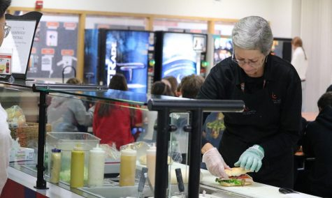 Debbie is always hard at work, making sure every student leaves Sandwich Central feeling satisfied.