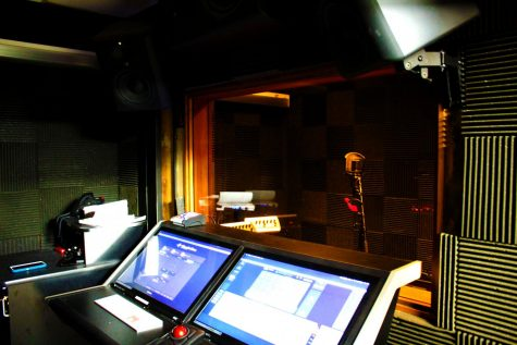 Unlike other schools, the console area has touch-screen technology, which LHS was able to get through the efforts of the school and the Parent Cats organization. The console is responsible for editing the recordings, and it serves as the connection between an audio interface and the incoming audio, according to Sage Audio, a professional studio located in Nashville.