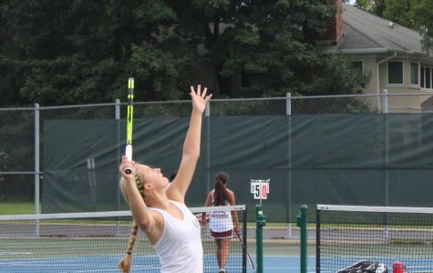 Girls tennis beats Zion Benton in every match