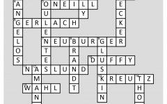 Crossword Answers: Staff fun facts