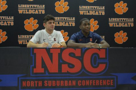 Daniel Pucino and Elan Heard both sign commitments to the University of Illinois at Urbana-Champaign for wrestling.