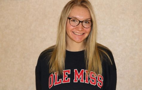 Junior Peyton O'Brien committed to the University of Mississippi to play Division I volleyball as a sophomore in high school.
