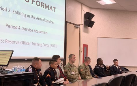 "LHS hosts ""Military Interest Day"" for D-128 students"