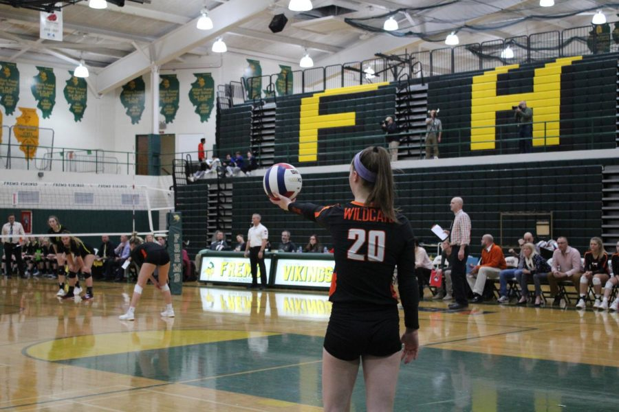 Girls volleyball falls to Fremd vikings in supersectional match