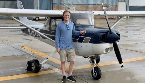 Larsen took his first solo flight July 2, 2019. This experience led him to search for aviation programs around the country to further his studies.