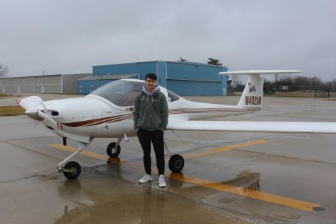 Tyler Trigg, who is currently a junior, participates in a program at Waukegan National Airport, where he is given instructions to fly a plane. Skill Aviation, the program in which Tyler is apart of, is very popular among Lake County aviation students.