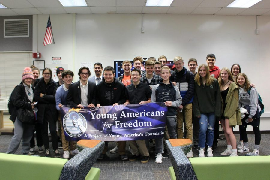 Young Americans for Freedom (YAF) is a new conservative club at Libertyville High School, promoting individual freedom, a strong national defense, free enterprise and other traditional values.