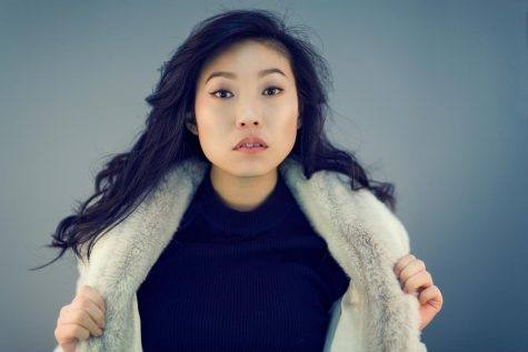 "Awkwafina was the lead actress in the movie ""The Farewell,"" and she is the first person of Asian descent to win a Golden Globe in that category."