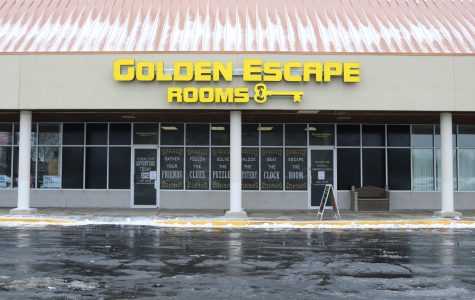 Golden Escape Rooms is located on 15 Commerce Dr., Units 110-111, in Grayslake, next to Asian Bowl.