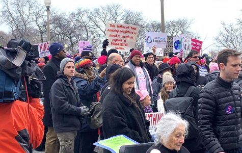 Marchers included those from a variety of different age groups, many of whom held up signs to show the main reason they were at the march, including, supporting their daughters, supporting Planned Parenthood and simply supporting women in general.