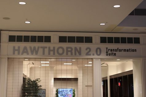 Hawthorn has introduced their plan for redevelopment as Hawthorn 2.0 and opened the Transformation Suite, a room on the upper level with a Lego model and TV that showcase changes to come for the shopping center.