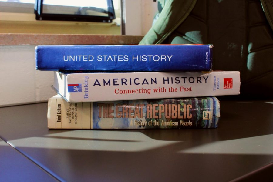 A large amount of the U.S history curriculum is built around the textbooks used in class. However, the textbooks contain problematic ideas that help support a common narrative of U.S. history.