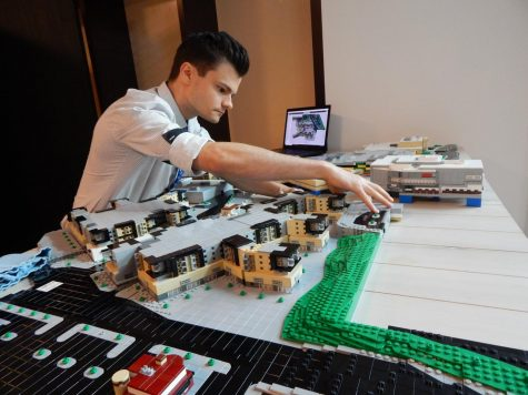 The Lego model featured in the Hawthorn 2.0 Transformation Suite presents the renovations of Hawthorn for mall-goers to observe.